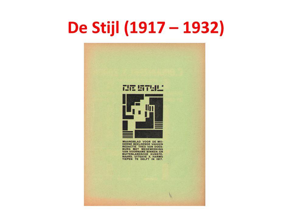 De Stijl (1917 – 1932)
