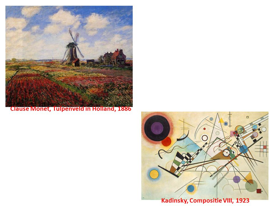 Clause Monet, Tulpenveld in Holland, 1886