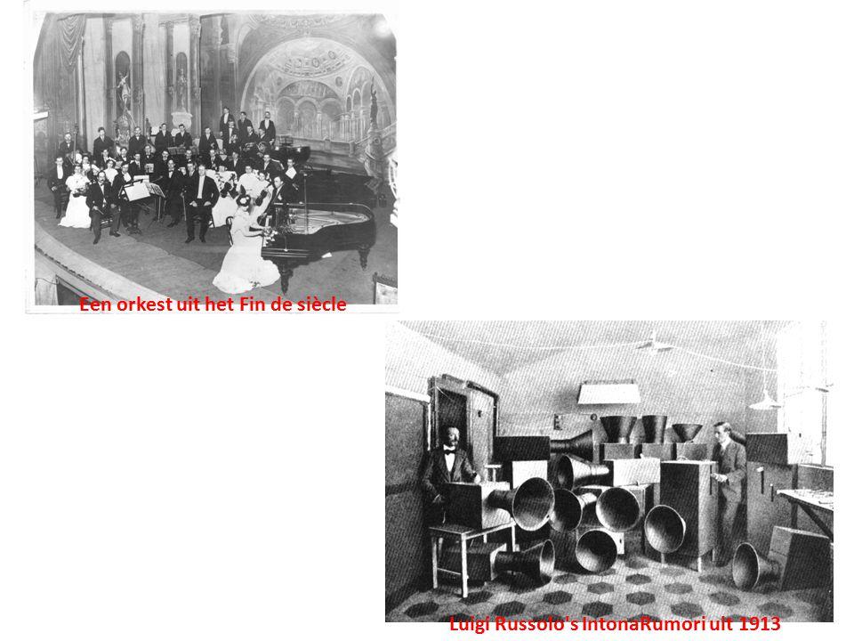 Een orkest uit het Fin de siècle