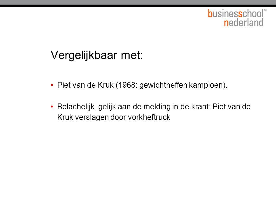 Vergelijkbaar met: Piet van de Kruk (1968: gewichtheffen kampioen).