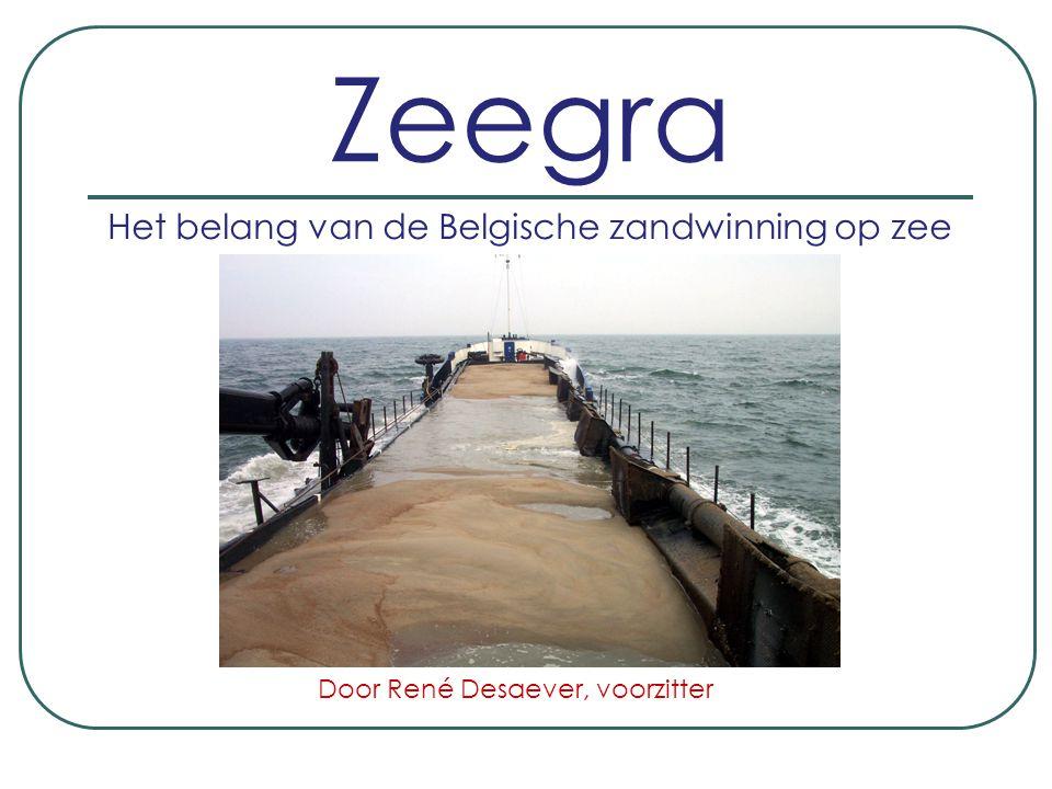 Het belang van de Belgische zandwinning op zee