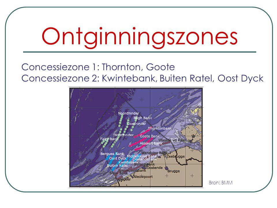 Ontginningszones Concessiezone 1: Thornton, Goote