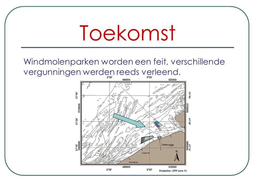 Toekomst Windmolenparken worden een feit, verschillende vergunningen werden reeds verleend.