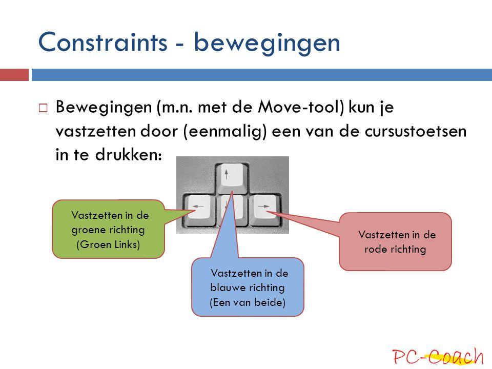 Constraints - bewegingen