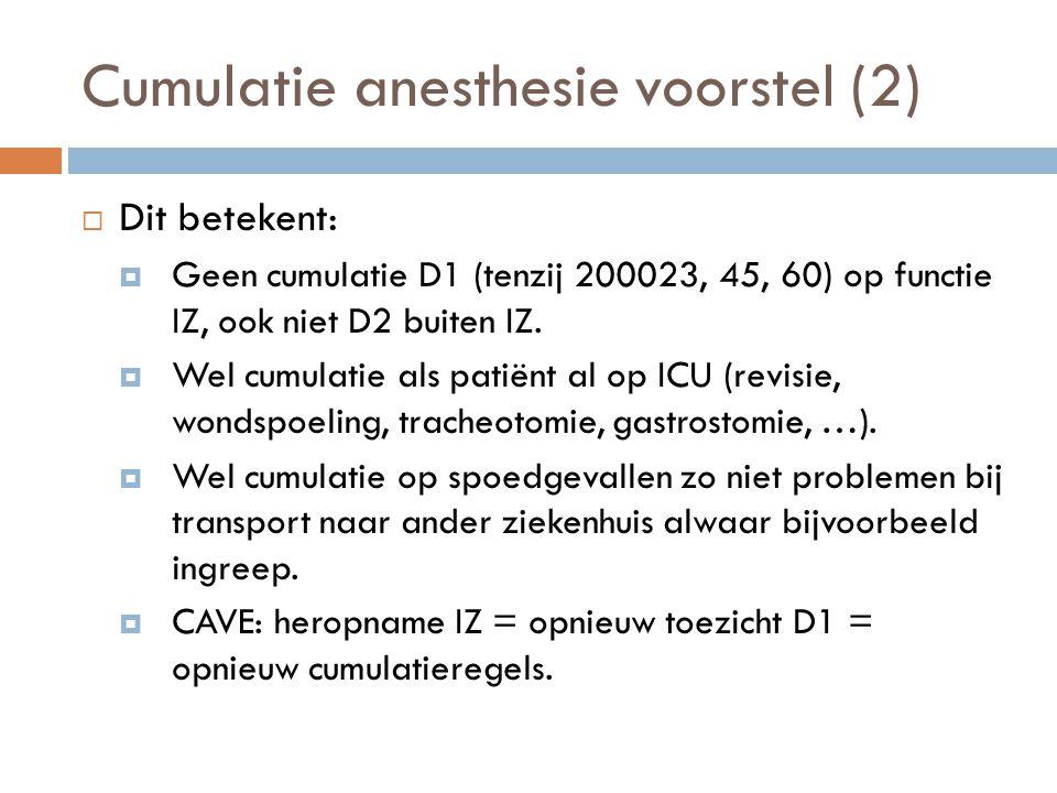 Cumulatie anesthesie voorstel (2)