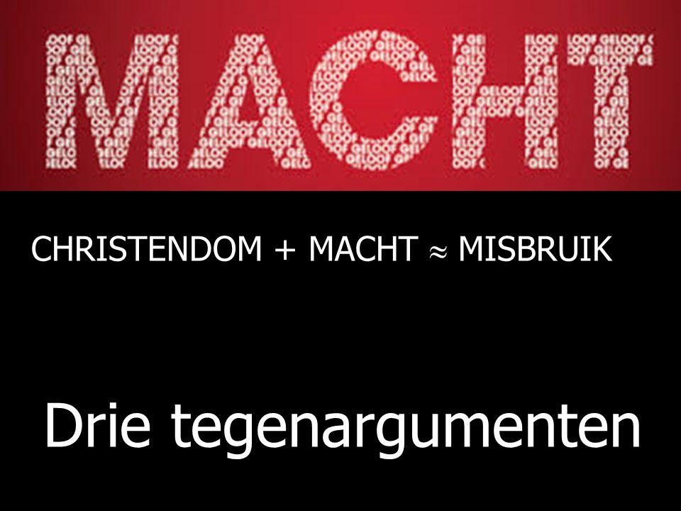 CHRISTENDOM + MACHT  MISBRUIK
