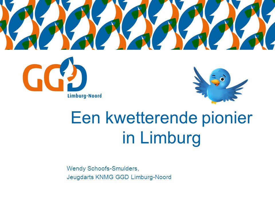 Een kwetterende pionier in Limburg
