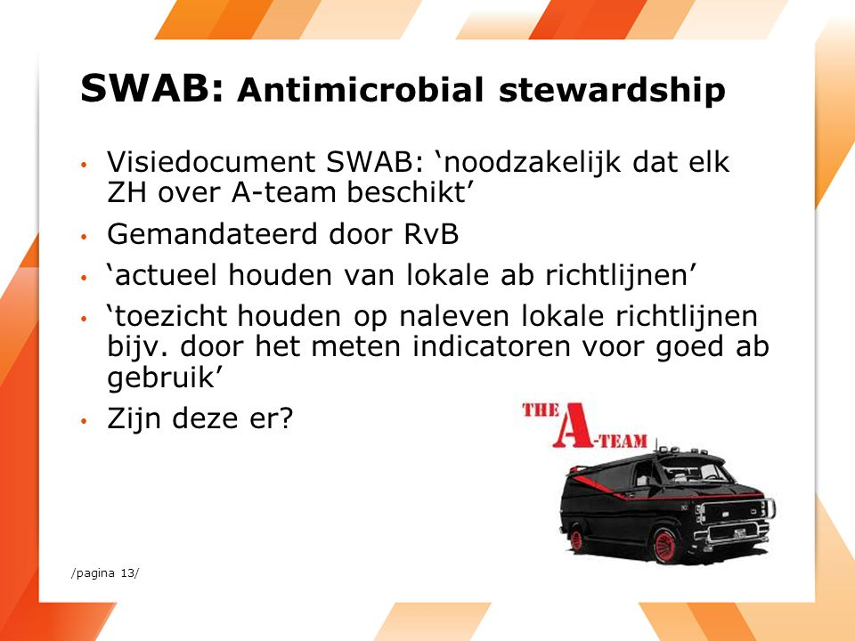 SWAB: Antimicrobial stewardship