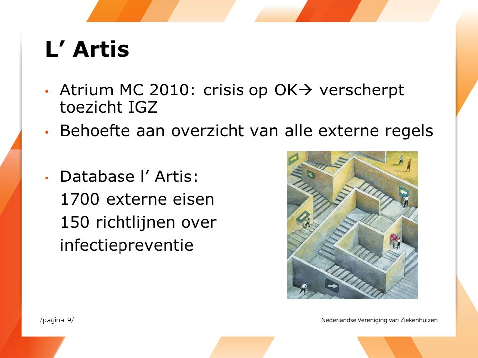 L' Artis Atrium MC 2010: crisis op OK verscherpt toezicht IGZ