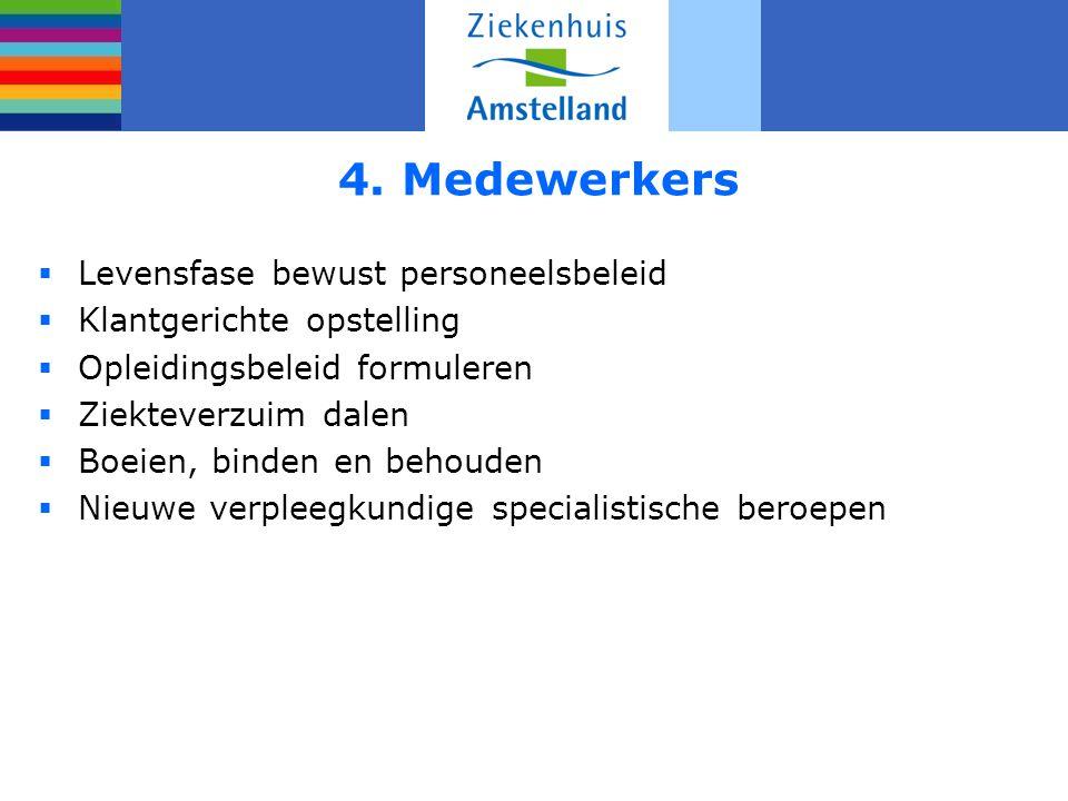 4. Medewerkers Levensfase bewust personeelsbeleid