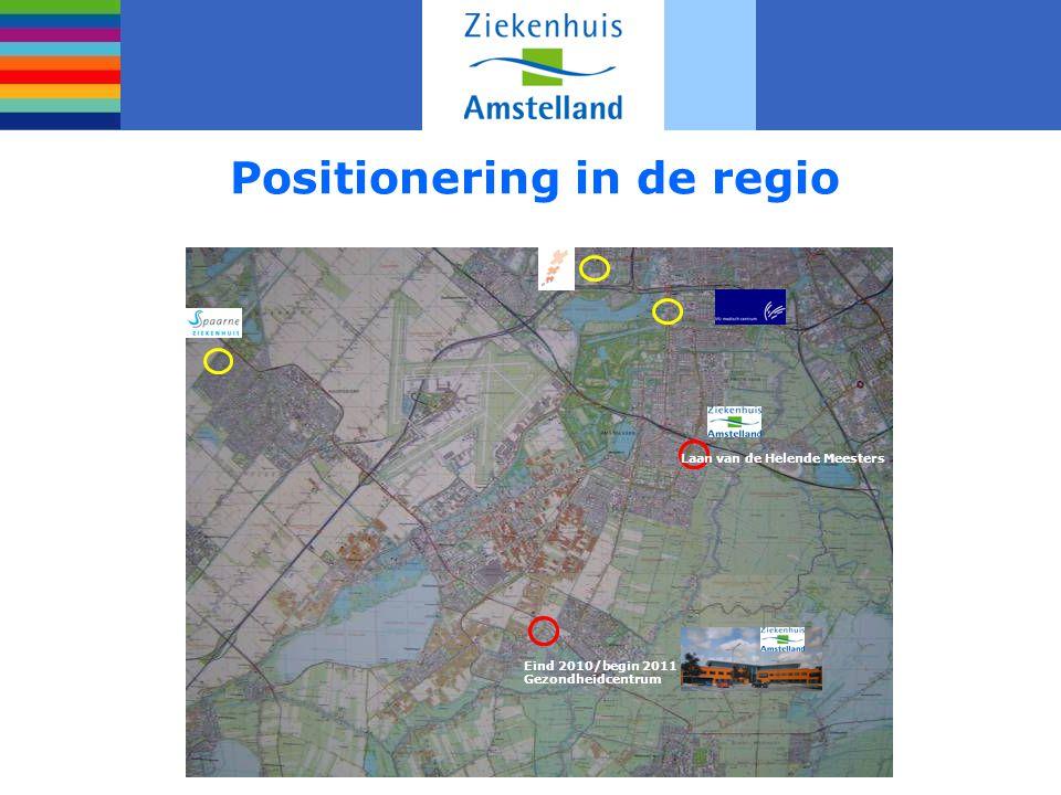 Positionering in de regio