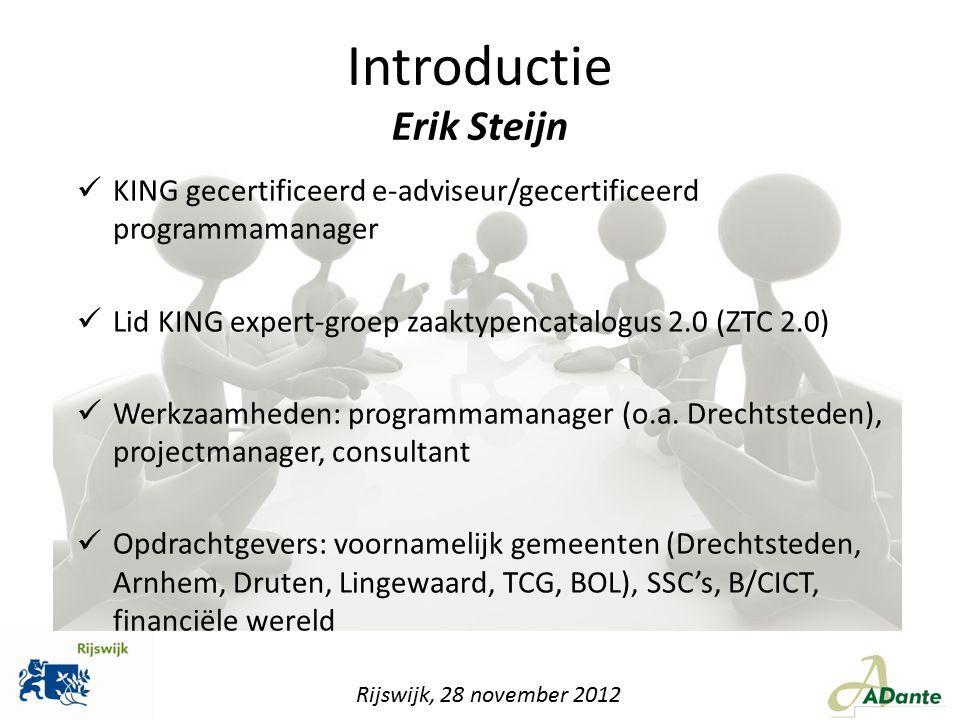 Introductie Erik Steijn