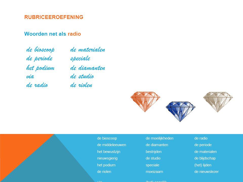 de bioscoop de materialen de periode speciale het podium de diamanten