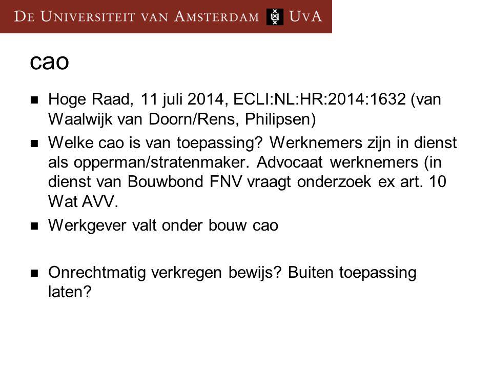 cao Hoge Raad, 11 juli 2014, ECLI:NL:HR:2014:1632 (van Waalwijk van Doorn/Rens, Philipsen)