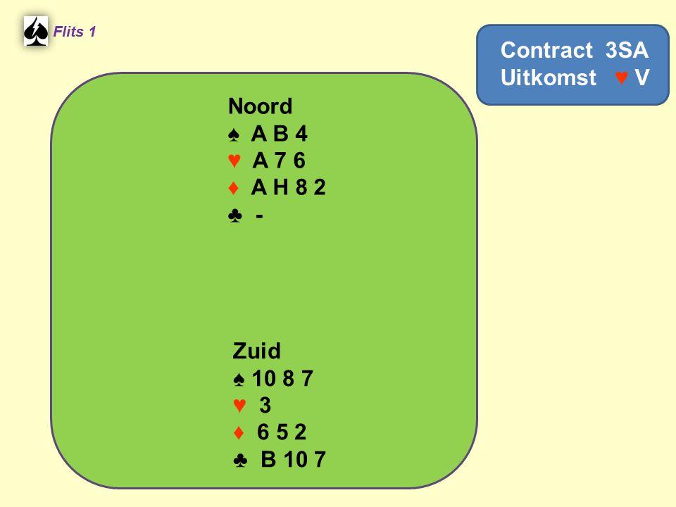 Contract 3SA Uitkomst ♥ V
