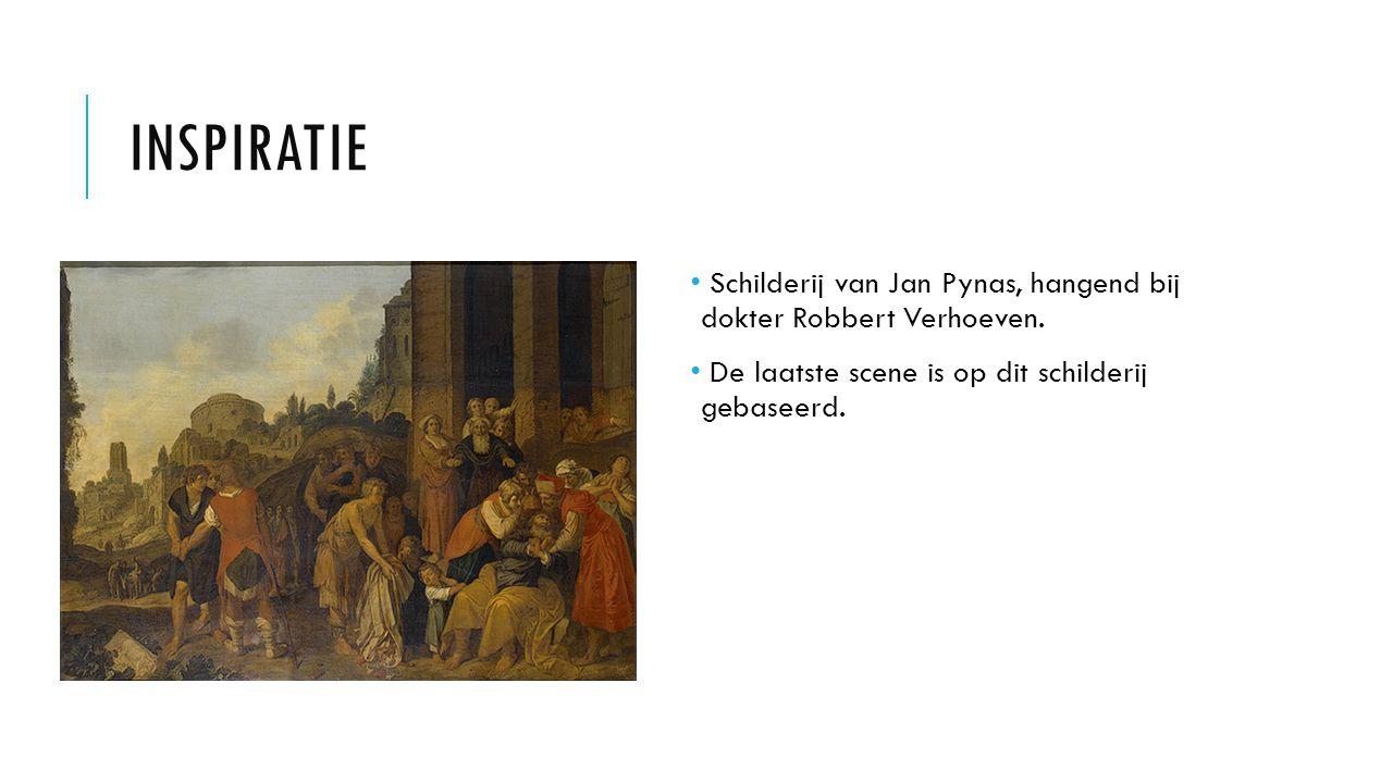 Inspiratie Schilderij van Jan Pynas, hangend bij dokter Robbert Verhoeven.