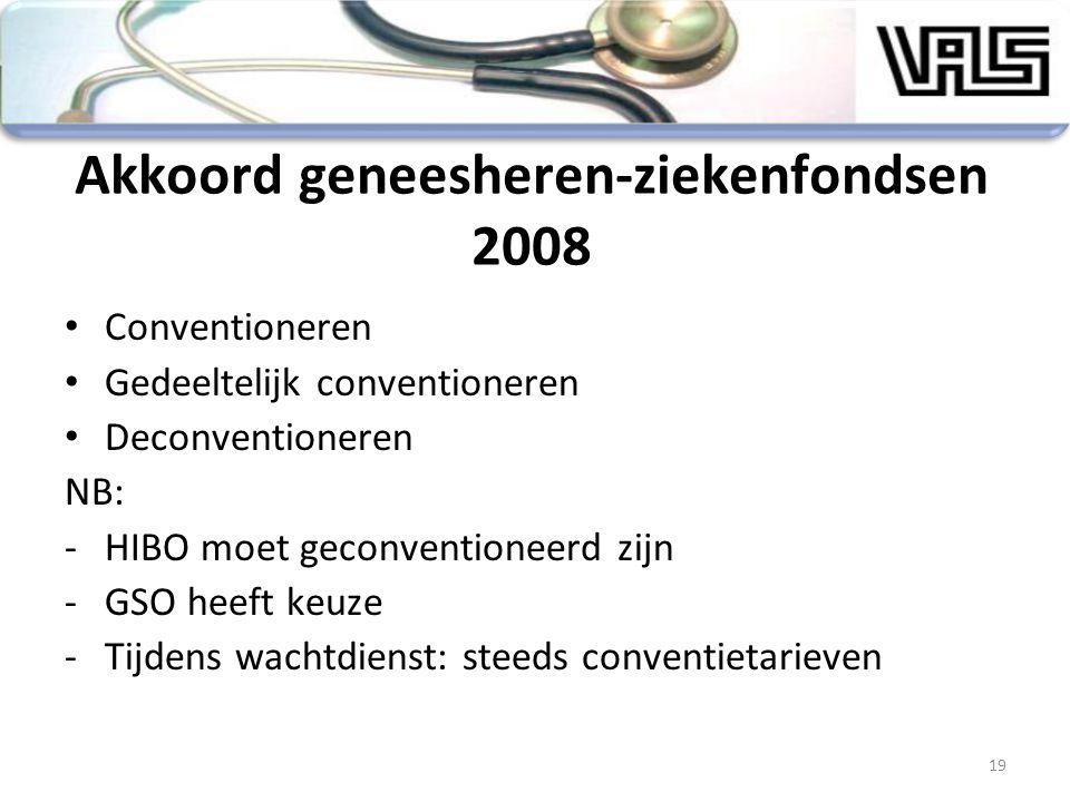 Akkoord geneesheren-ziekenfondsen 2008
