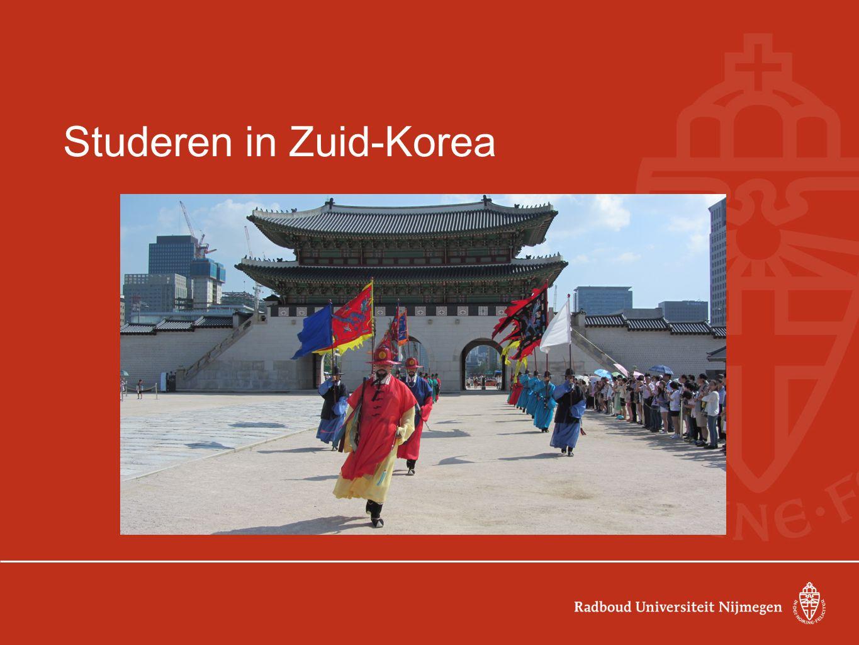 Studeren in Zuid-Korea