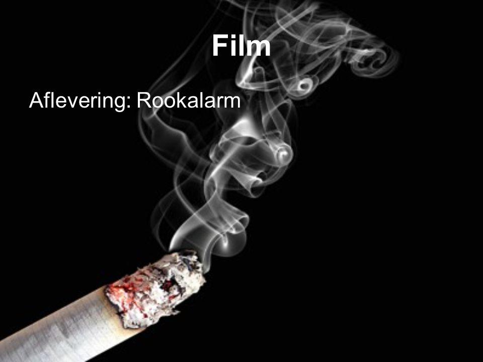 Film Aflevering: Rookalarm
