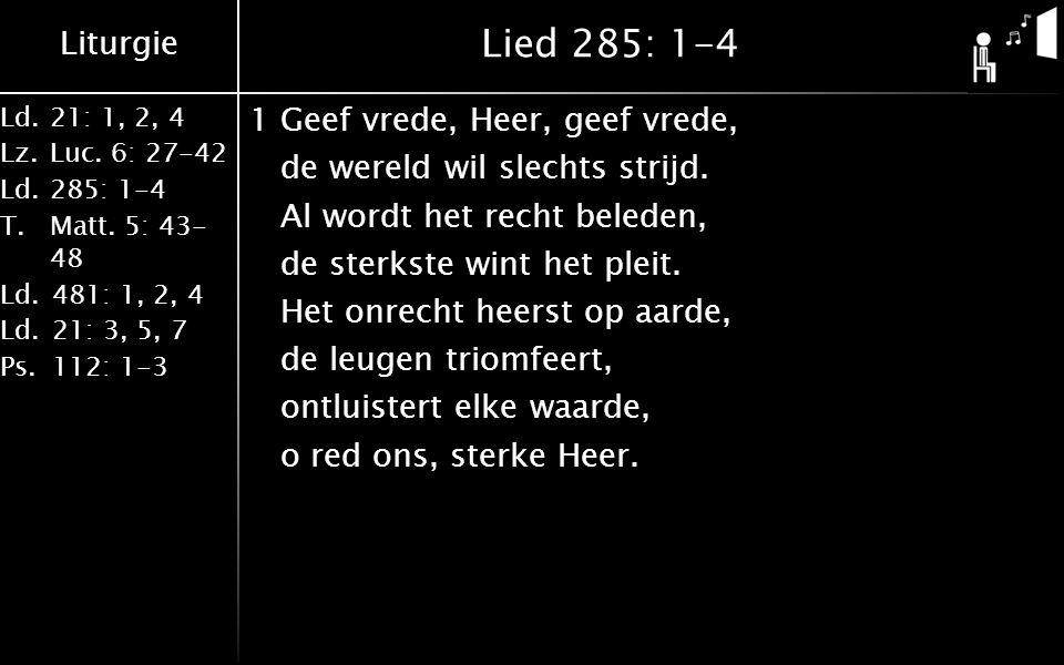 Lied 285: 1-4
