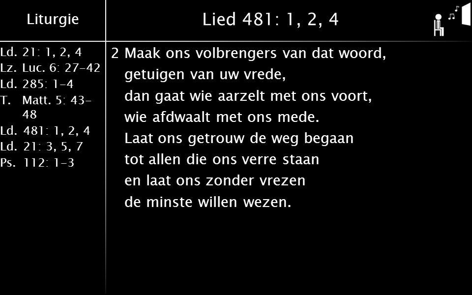 Lied 481: 1, 2, 4