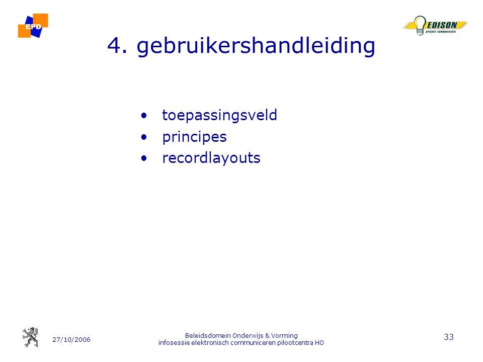 4. gebruikershandleiding
