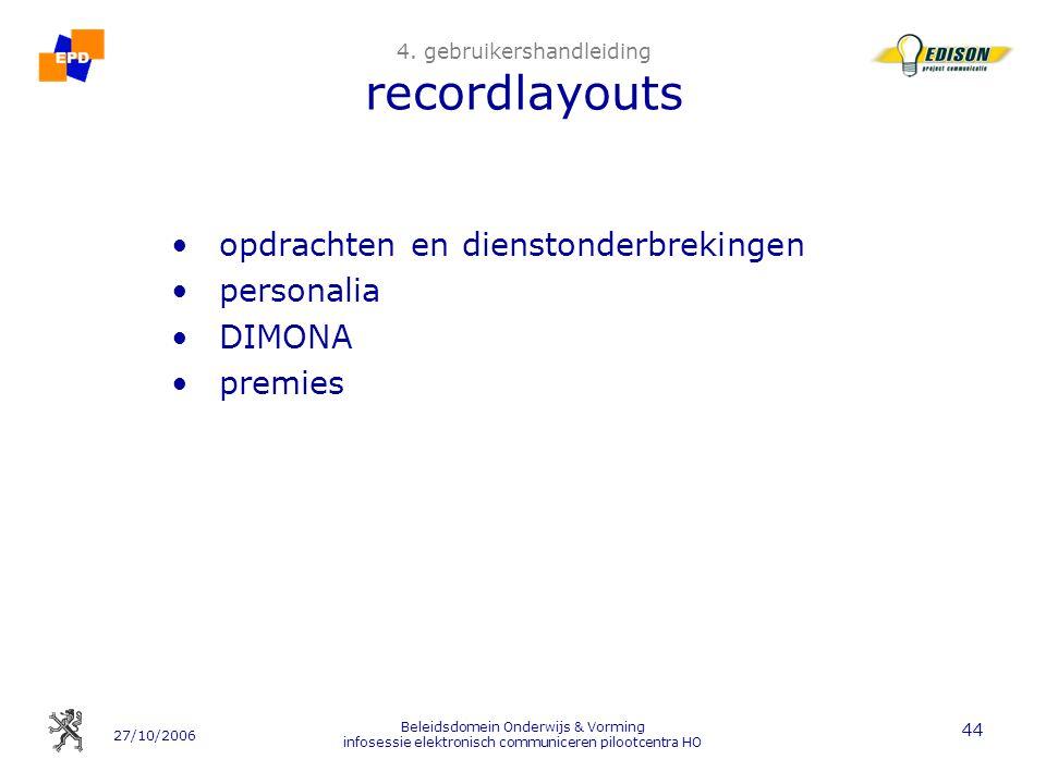 4. gebruikershandleiding recordlayouts