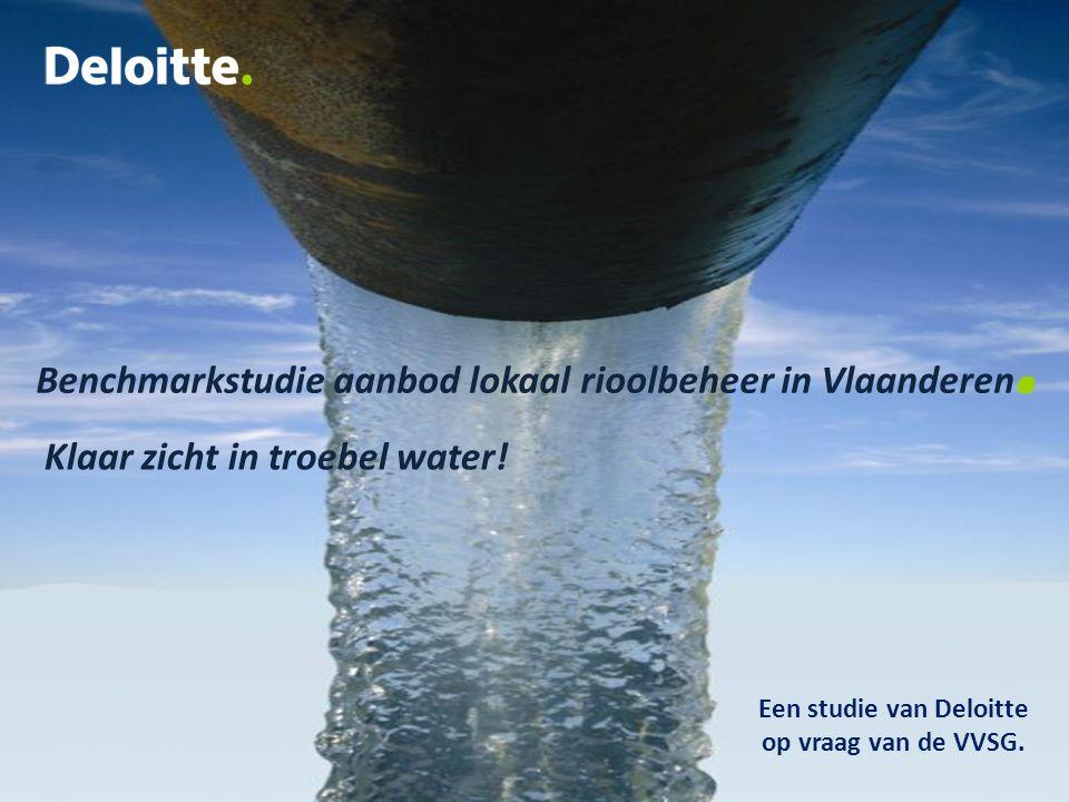 Een studie van Deloitte op vraag van de VVSG.