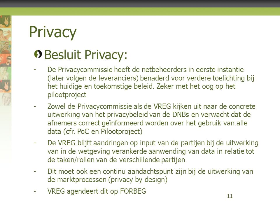 Privacy Besluit Privacy: