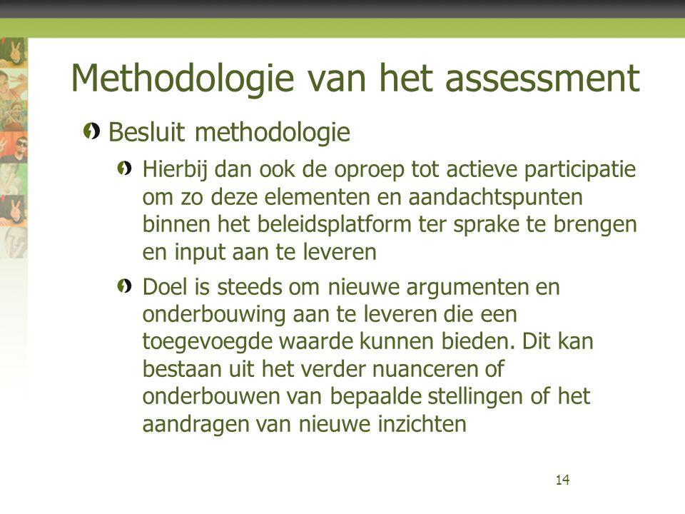 Methodologie van het assessment