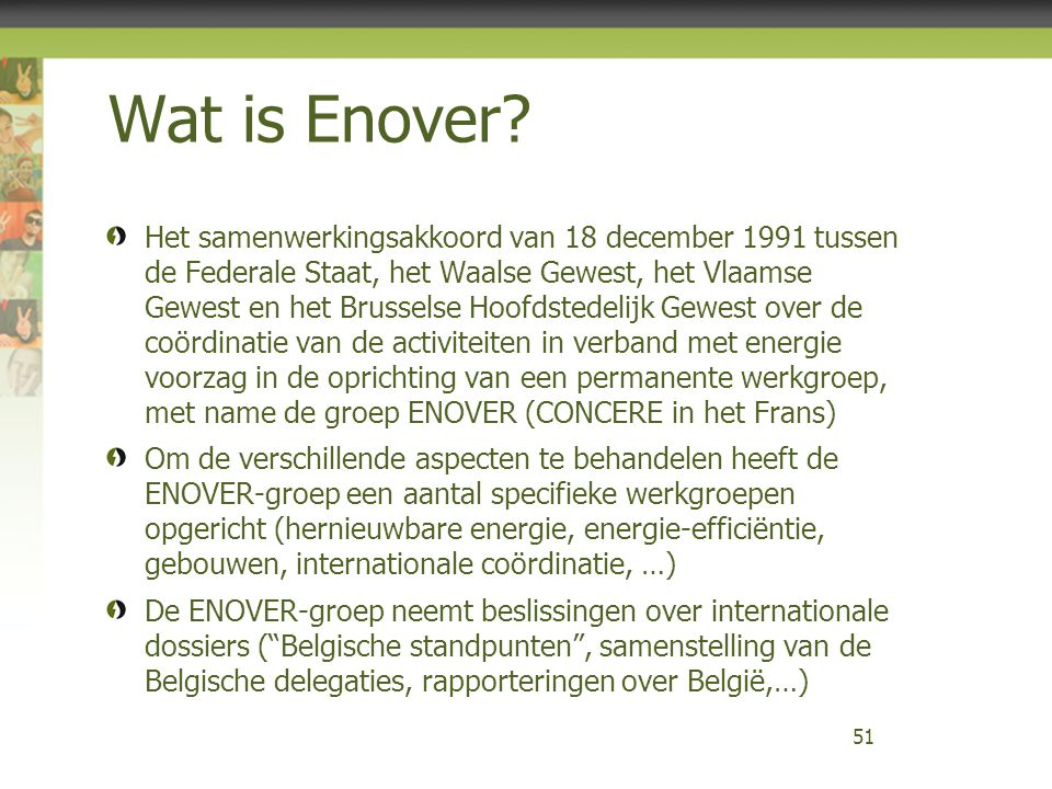 Wat is Enover