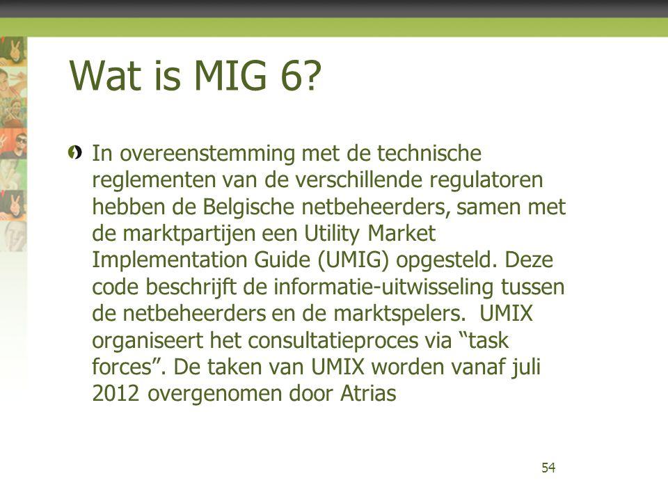 Wat is MIG 6