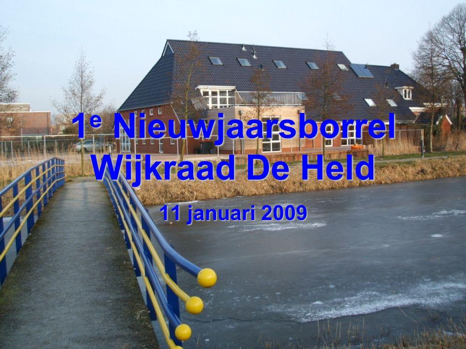 1e Nieuwjaarsborrel Wijkraad De Held