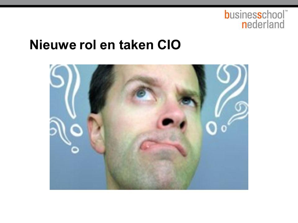Nieuwe rol en taken CIO Titel presentatie Gemeente Amsterdam
