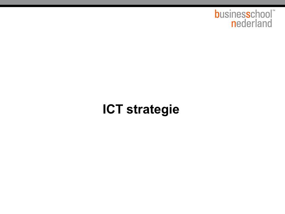 Titel presentatie ICT strategie Gemeente Amsterdam 1 januari 2003