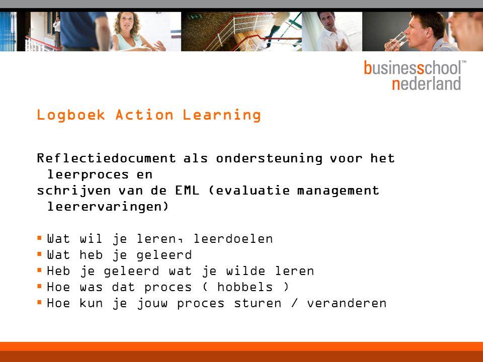 Logboek Action Learning