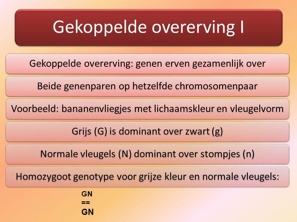 GN == Gekoppelde overerving I