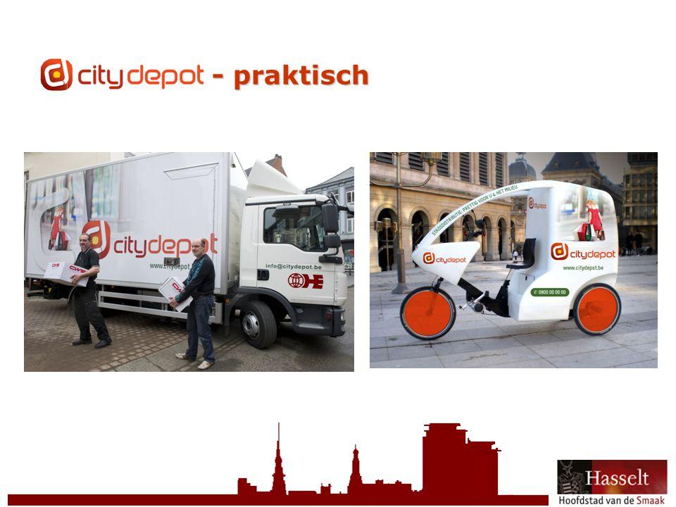 CityDepot - praktisch