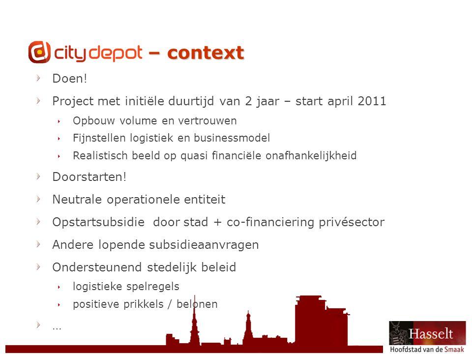 CityDepot CityDepot – context Doen!