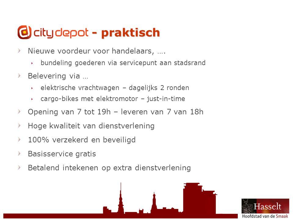 CityDepot - praktisch Nieuwe voordeur voor handelaars, ….