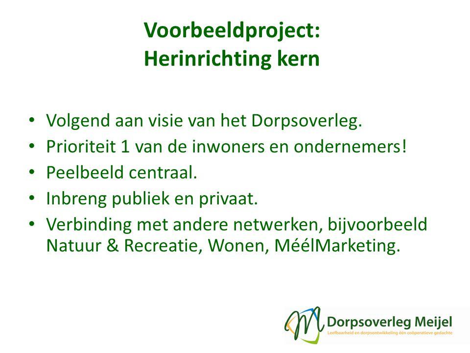 Voorbeeldproject: Herinrichting kern