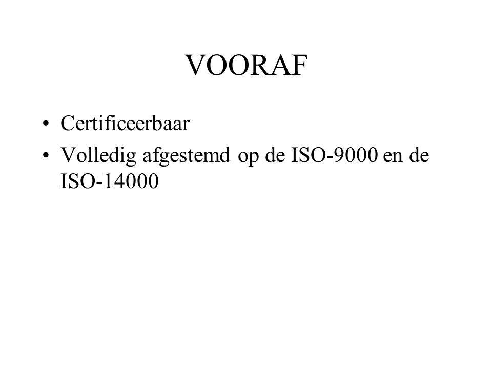 VOORAF Certificeerbaar