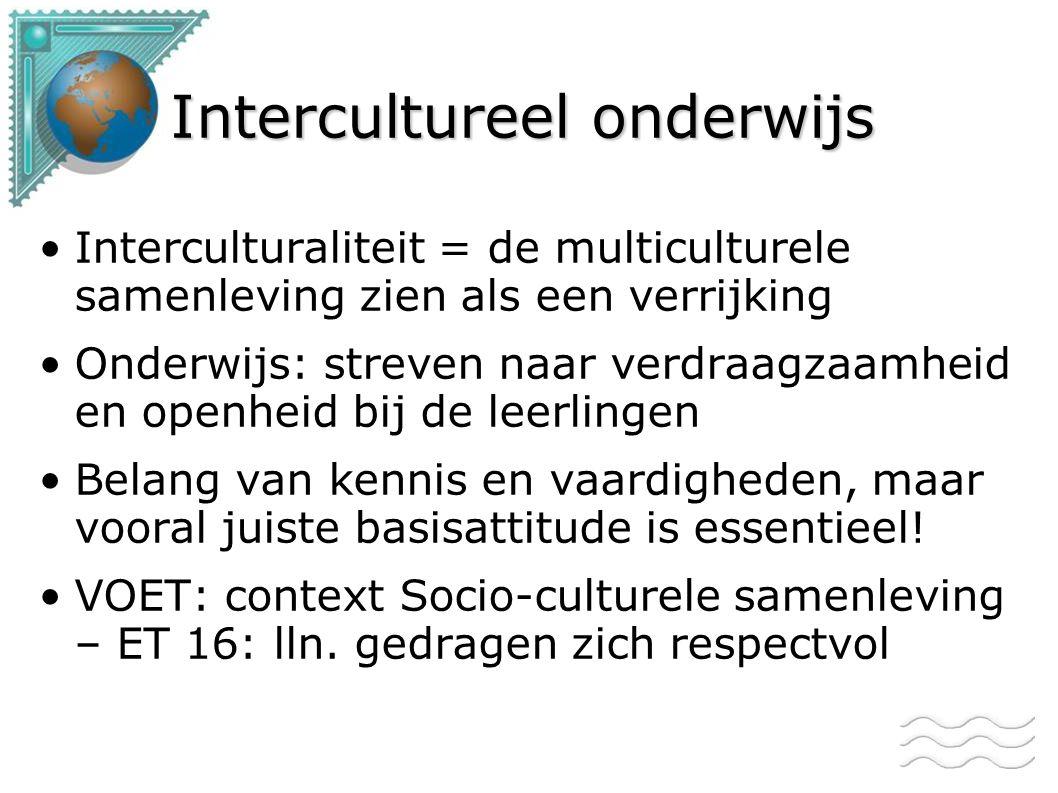 Intercultureel onderwijs