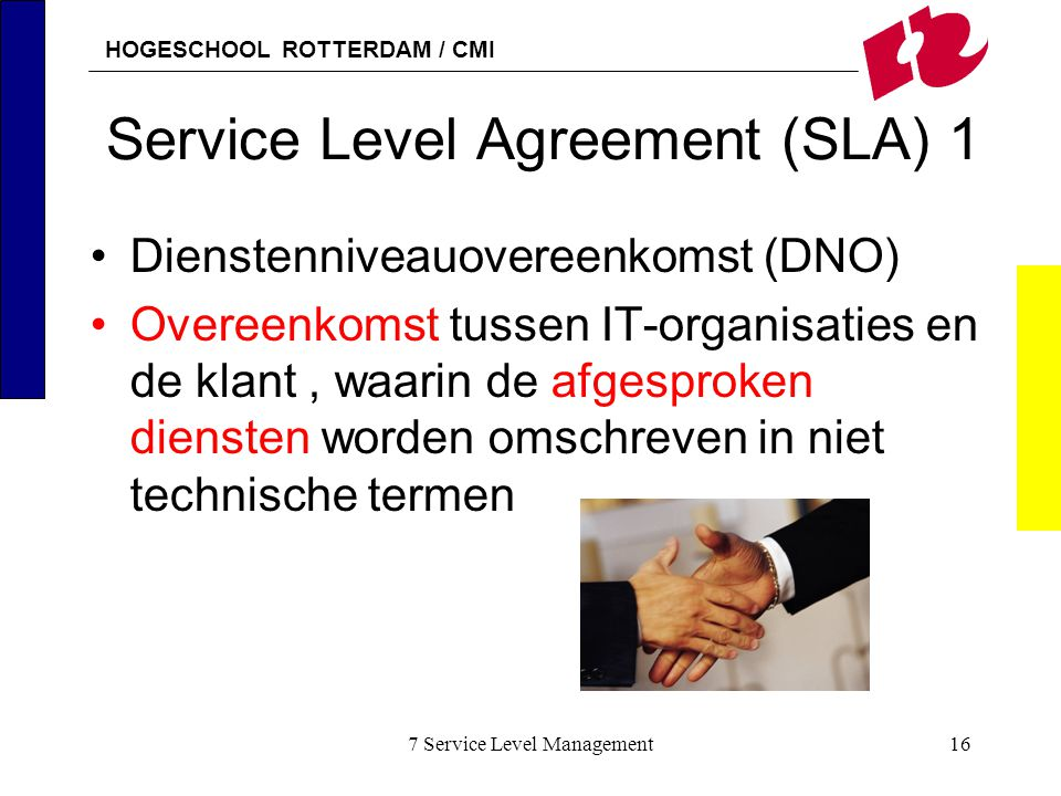 Service Level Agreement (SLA) 1