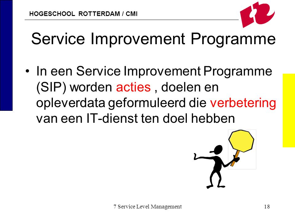 Service Improvement Programme
