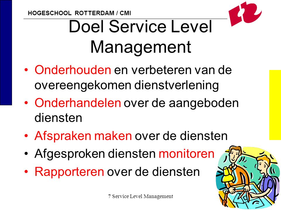 Doel Service Level Management