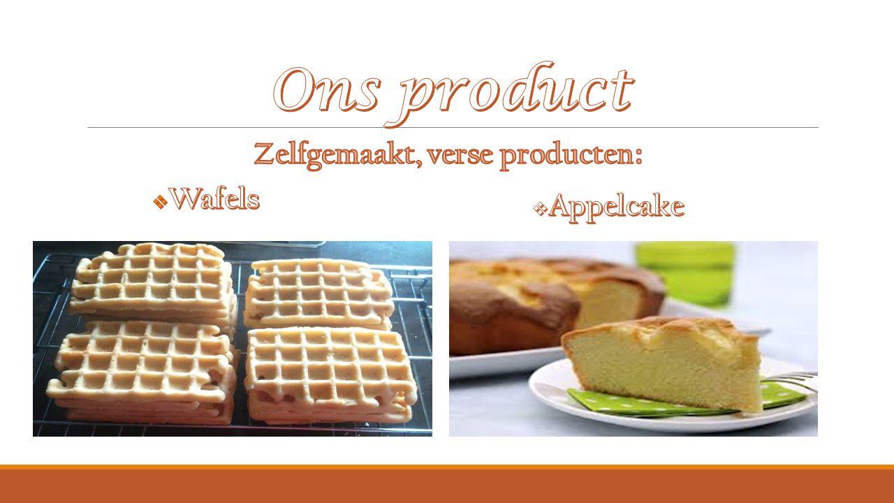 Zelfgemaakt, verse producten: