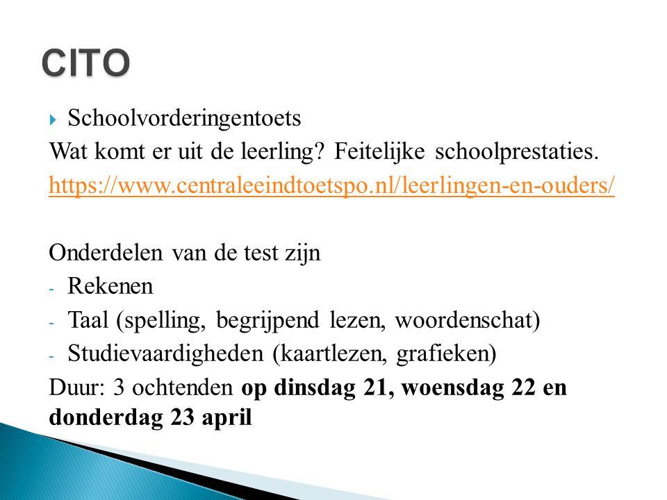 CITO Schoolvorderingentoets