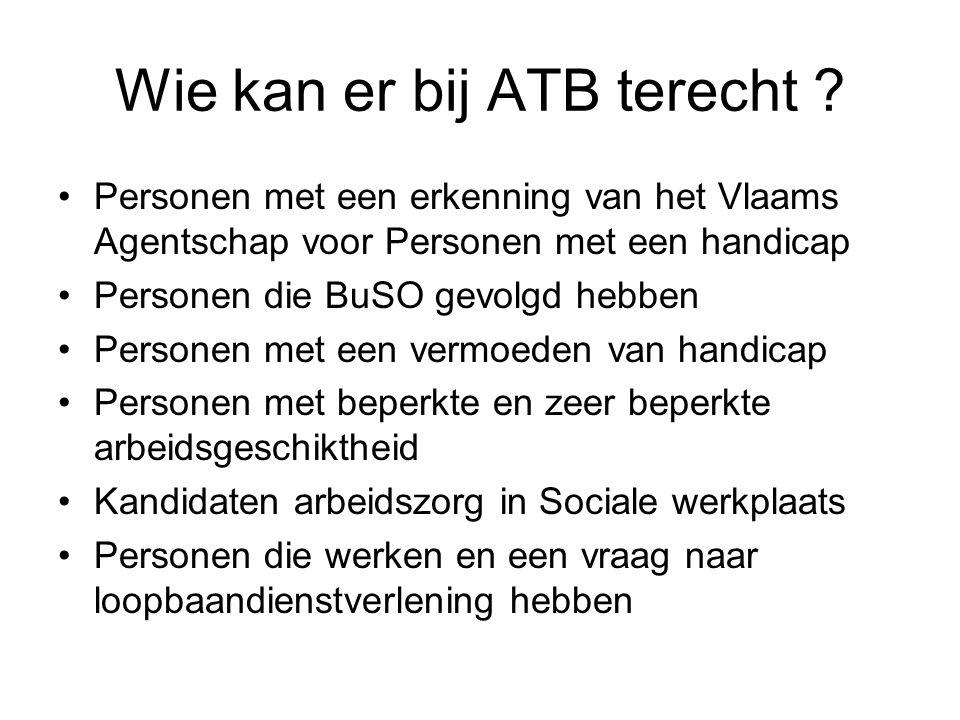 Wie kan er bij ATB terecht