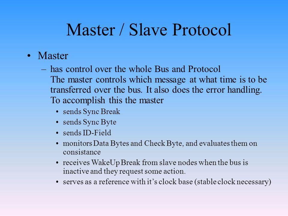Master / Slave Protocol
